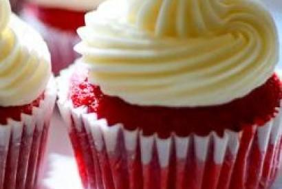 Kırmızı Cupcake Tarifi