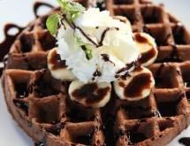 Çikolatalı wafel