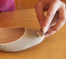 Süet ayakkabılarınızı sirkeyle temizleyin
